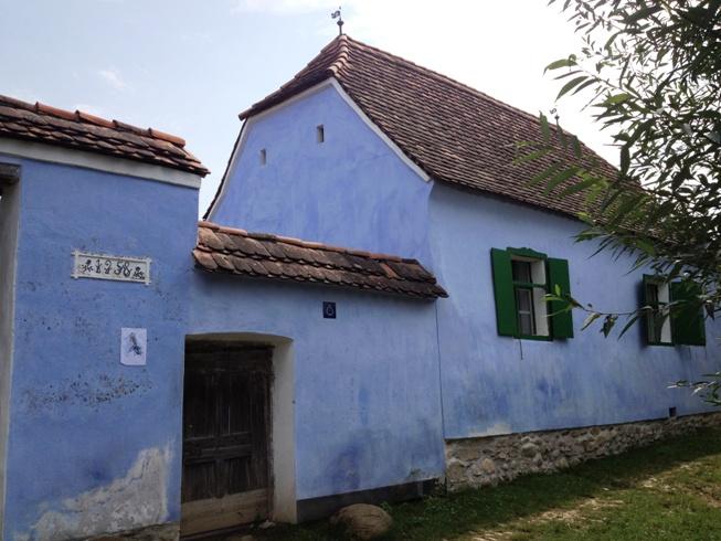 Casa printului Charles la Viscri