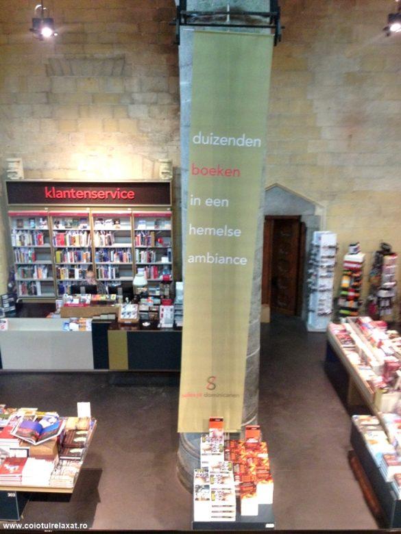 La pas prin Maastricht: librăria dintr-o fostă biserică dominicană