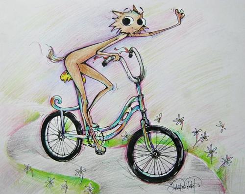Coiot pe bicicletă