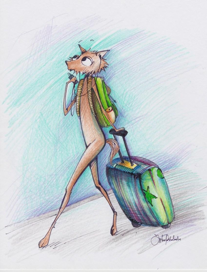 În călătorie