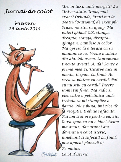 Jurnal de coiot – iunie 2014