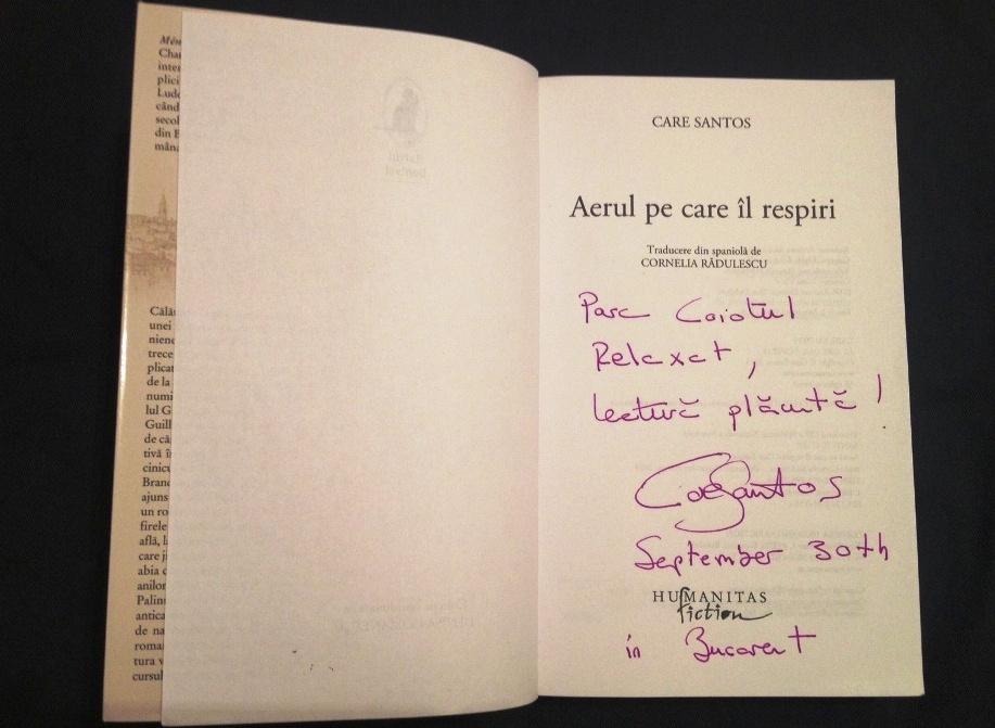 autograf Care Santos
