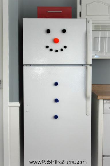 8 omul de zapada frigorific