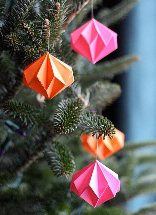9 diamante origami