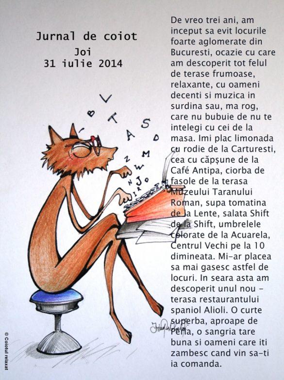 Jurnal de coiot – iulie 2014